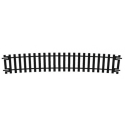 Rail courbe grand rayon 852mm de rayon 11.25° (32 voies au cercle)