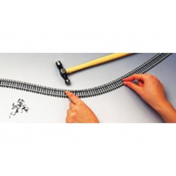 Rail semi flexible 914mm