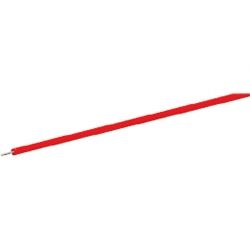 Bobine de fil rouge 10m en section 0.7mm²
