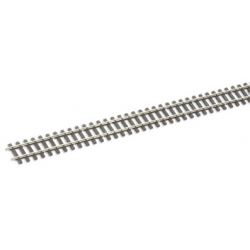 Rail flexible, longueur 914mm, HOm, code 75, traverses bois
