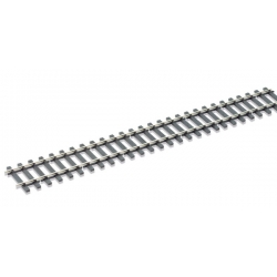 Rail flexible, longueur 914mm, traverses bois, code 124