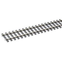 Rails flexibles, longueur 914mm , traverse bois ,code 200