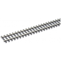Rail flexible, longueur 914mm, traverses bois, code 143