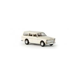 Volvo Amazon Kombi blanche