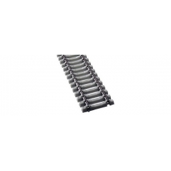 Rail flexible 470mm traverses beton