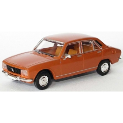 Peugeot 504 livrée brun orange