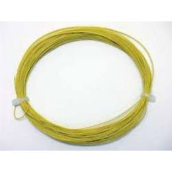 Câble flexible 0.5 mm 10 m  Jaune