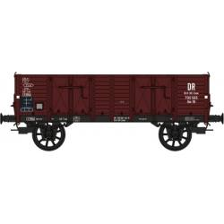 Set de 2 wagons tombereaux marron