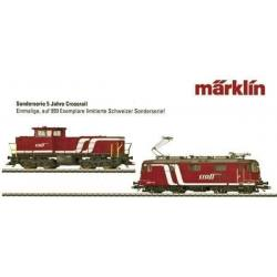 Coffret de 2 locomotives SBB crossrail