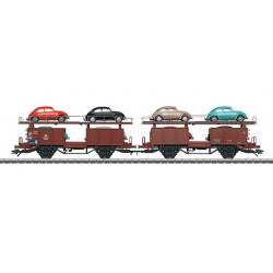Coffret de 2 wagons porte-autos type Offs 59