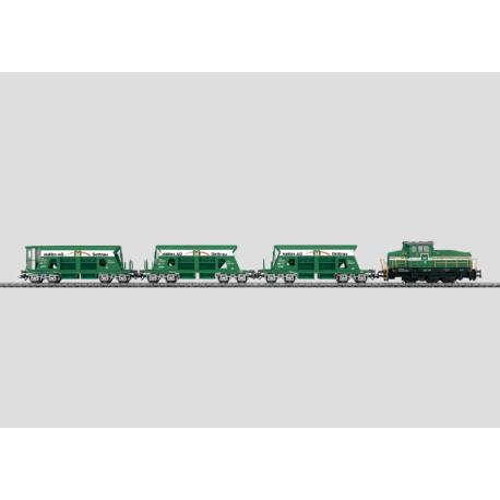Coffret train de gravier
