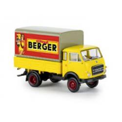 """Camion OM Laster baché """"Berger"""""""