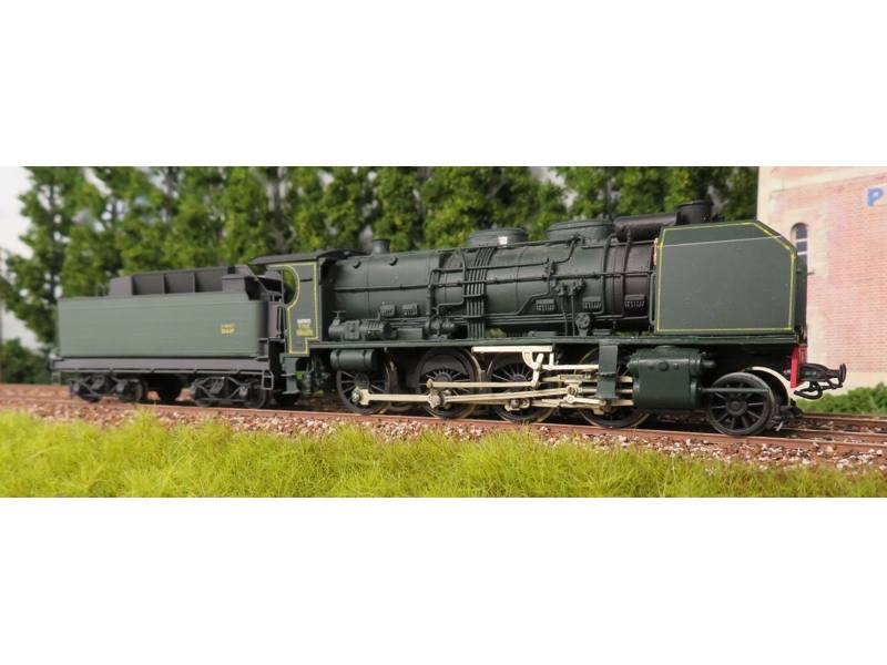Locomotive 140A tender 17A Nord / SNCF - en kit