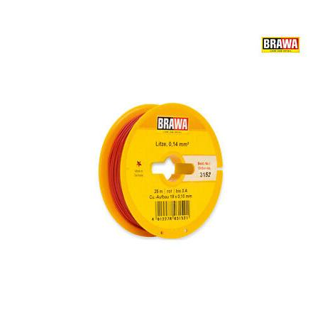Cable rouge 0.14 mm²