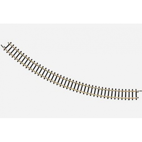 Rail courbe rayon 195mm 45°
