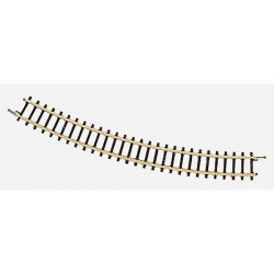 Rail courbe rayon 195mm 30°