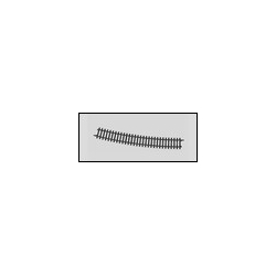 Rail courbe rayon 618.5mm 14°26