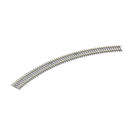 Rail courbe 45°, 8 au cercle, rayon 505mm, code 100