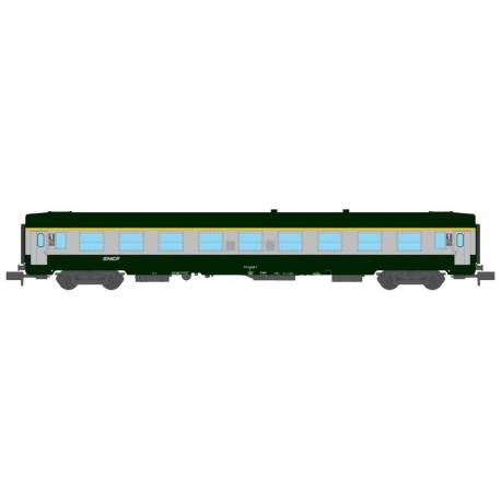 Set 2 Voitures UIC B10 - SNCF- N 1/160 - Mikadotrain NW 171
