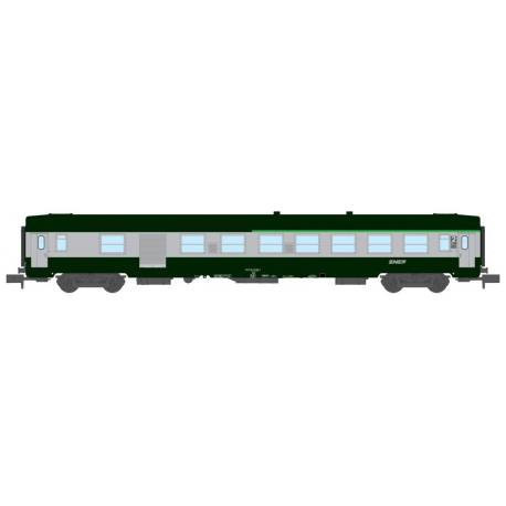 Voiture UIC A9 - Logo Nouille -SNCF- N 1/160 - Mikadotrain NW 173