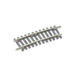 Rail courbe 11.5°, 32 au cercle, rayon 438mm, code 100